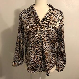 Victoria's Secret Leopard Print Pajama Set